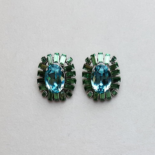 Boucles d'oreilles NEO 1 A/Light Turquoise