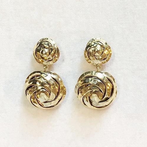 Boucles d'oreilles ART 0200 Doré