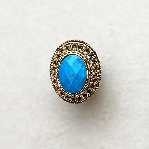 Bague GLAM 613 D/Turquoise