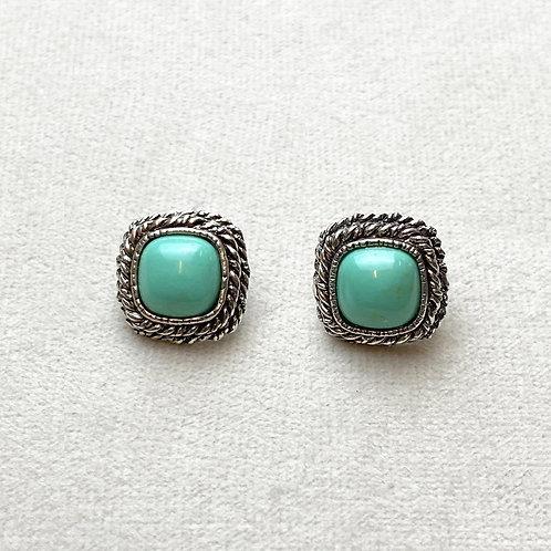 Boucles d'oreilles ELO 24 A/Turquoise