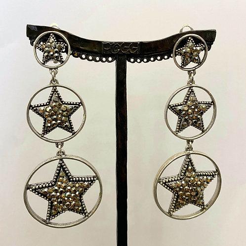 Boucles d'oreilles REX 9 A/Bronze Shadow