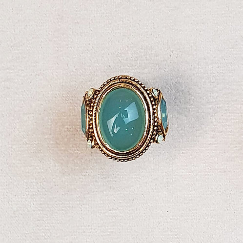 Bague TOP 602 D/Opal Green