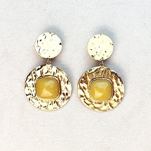 Boucles d'oreilles FAST 17 D/Ambre