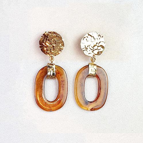 Boucles d'oreilles ART 0241 D/Ecaille