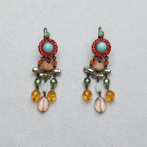 Boucles d'oreilles POG 2 B/Khaki