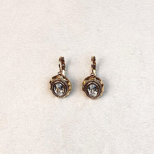 Boucles d'oreilles JOA 21 D/Cristal