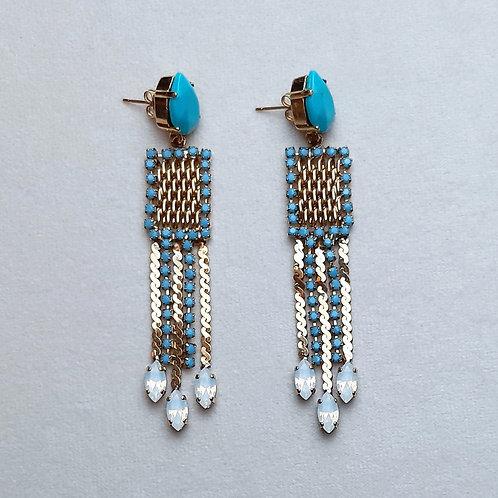 Boucles d'oreilles ART 874 D/Turquoise