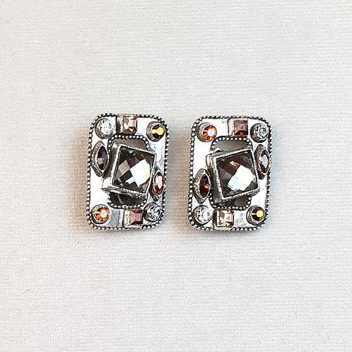 Boucles d'oreilles HIT 11 A/Gris