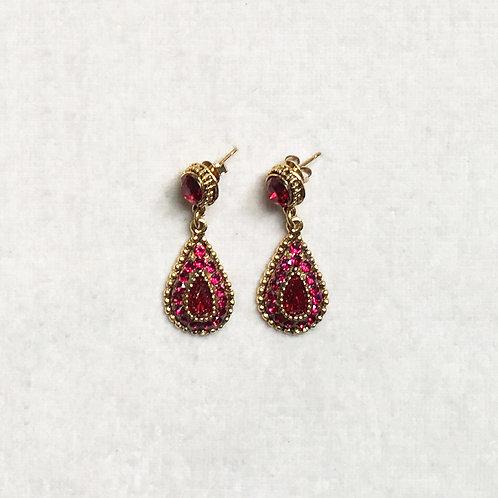 Boucles d'oreilles ODE 31 D/Royal Red