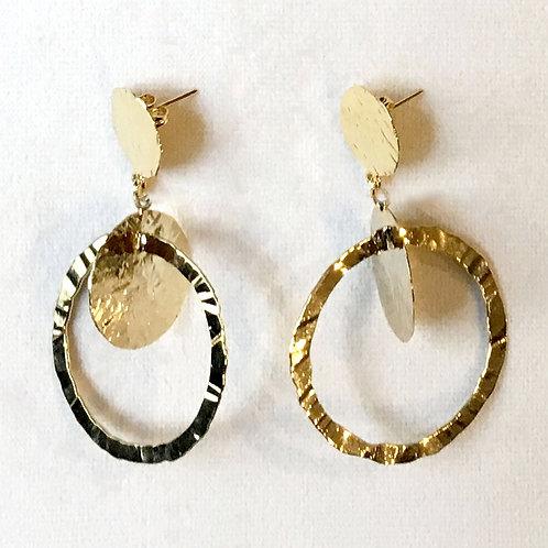 Boucles d'oreilles ART 0239 Doré