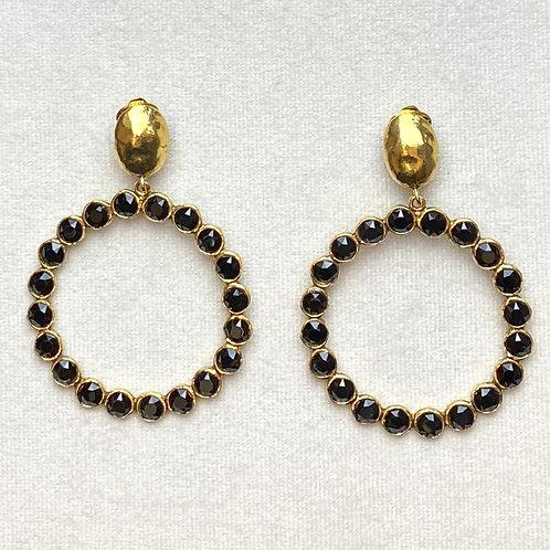 Boucles d'oreilles RAI 59 D/Noir