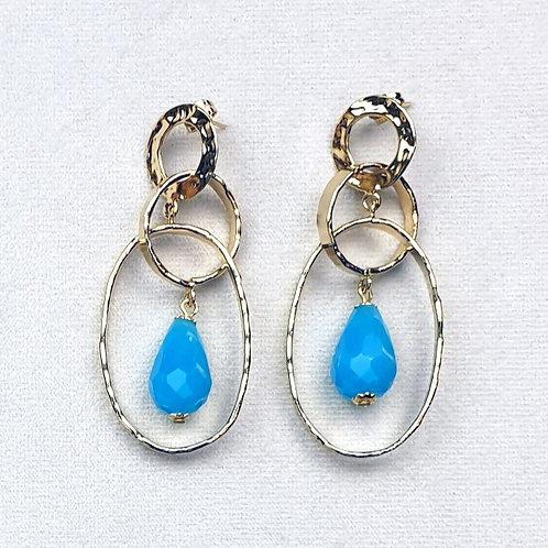 Boucles d'oreilles ART 0267P Doré