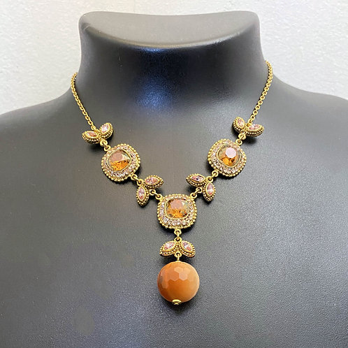 Collier  ODE 256 D/Smoked Topaz