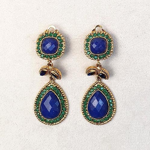 Boucles d'oreilles ODE 55 D/Blue