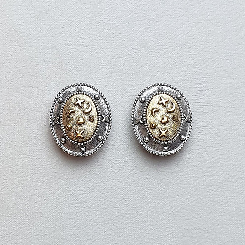 Boucles d'oreilles NAD 6 A/Doré