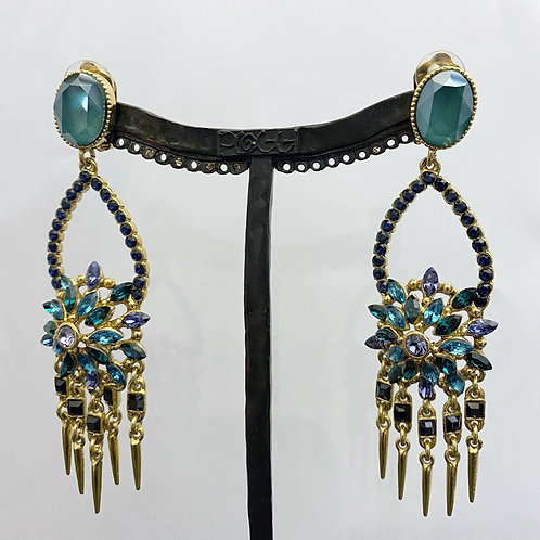 Boucles d'oreilles PAM 44 D/Royal Green