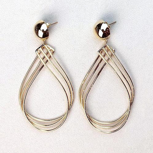 Boucles d'oreilles ART 0277 Doré