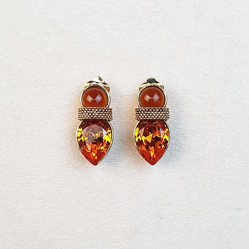 Boucles d'oreilles STON 13 D/Topaze