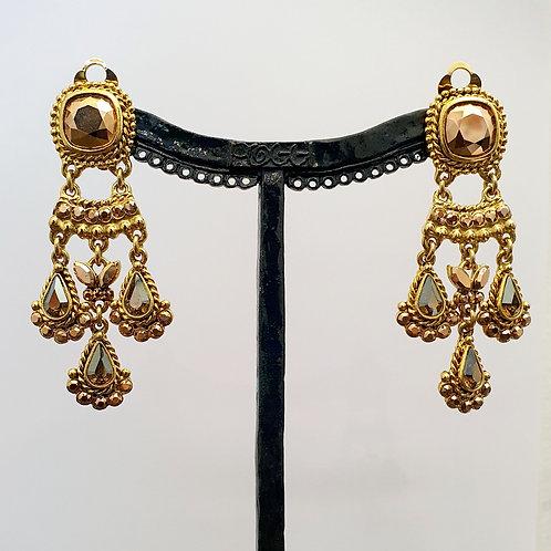 Boucles d'oreilles SOY 18 D/Metallic Gold