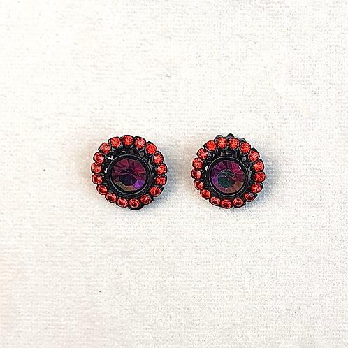 Boucles d'oreilles BAL 51 N/Purple