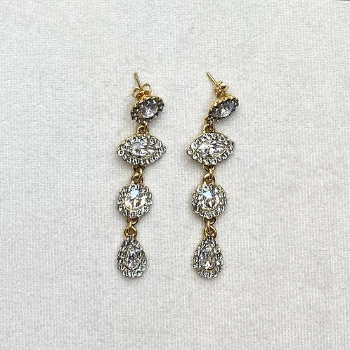Boucles d'oreilles MIX 52 D/Cristal