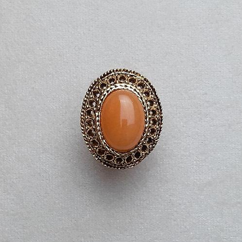 Bague GLAM 613 D/Terracotta
