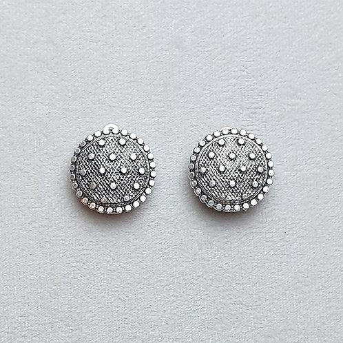 Boucles d'oreilles  TEM 2 Argent