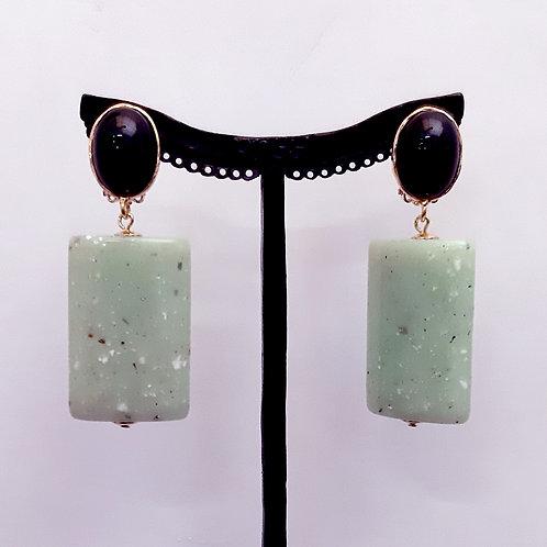 Boucles d'oreilles MAG 7 D/Jade