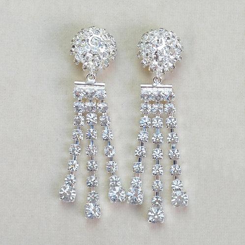 Boucles d'oreilles ART 994 A/Cristal