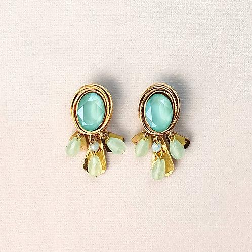 Boucles d'oreilles FAST 39 D/Mint Green