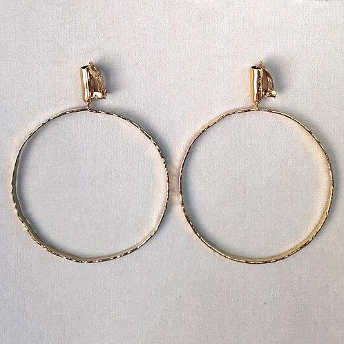 Boucles d'oreilles ART 0259 Doré