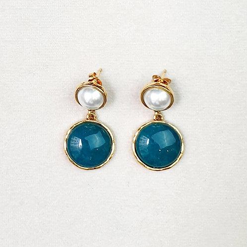 Boucles d'oreilles STON 6 D/Canard/Perle