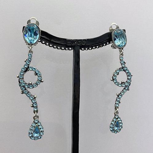 Boucles d'oreilles TES 3 A/Turquoise
