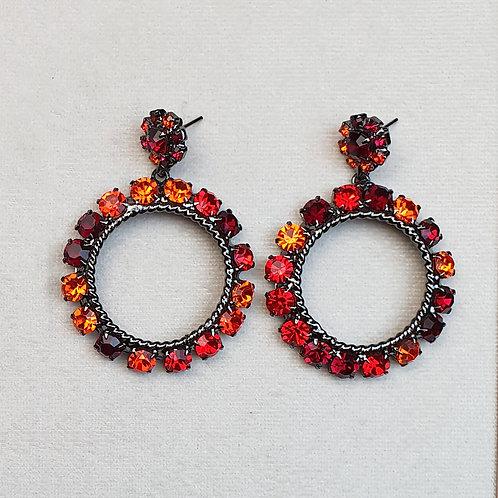 Boucles d'oreilles ART 903 N/Orange