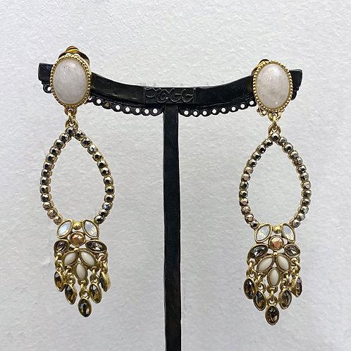 Boucles d'oreilles PAM SR D/Metallic Gold