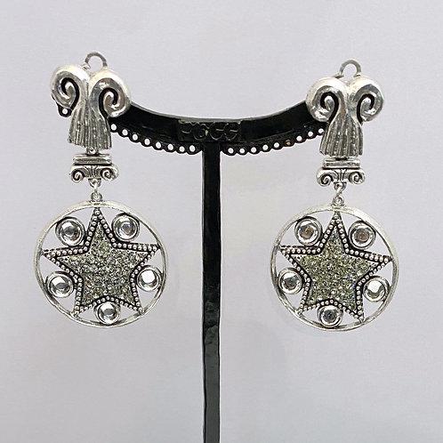 Boucles d'oreilles REX 13 A/Cristal