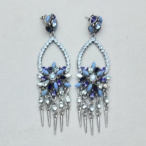 Boucles d'oreilles PAM 44 A/Bleu