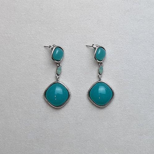 Boucles d'oreilles PAM 39 A/Turquoise