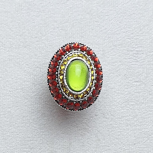 Bague GLAM 625 A/Lime