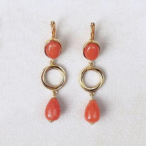 Boucles d'oreilles FAST 8 D/Terracotta