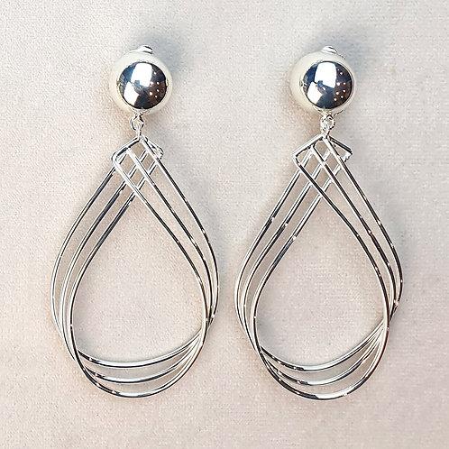 Boucles d'oreilles ART 0277 Argent
