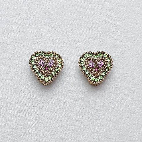 Boucles d'oreilles ORO 50 D/Chrysolite