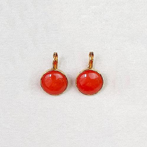 Boucles d'oreilles STON 24 D/Terracotta