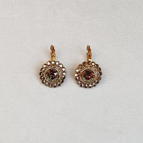 Boucles d'oreilles BAL 20 D/Golden