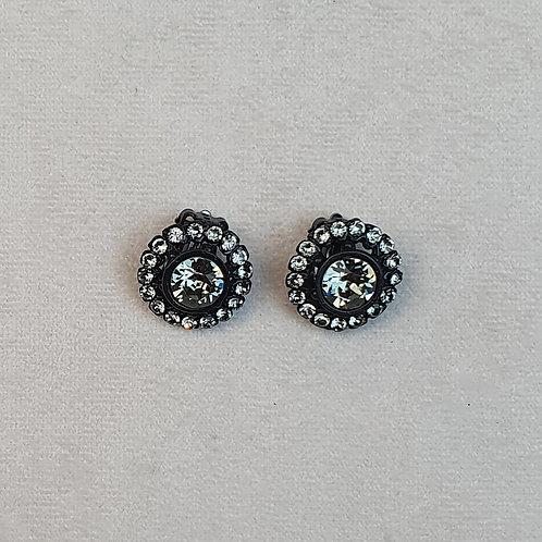 Boucles d'oreilles BAL 51 N/Grey