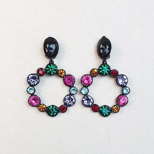 Boucles d'oreilles RAI 55 N/Multi