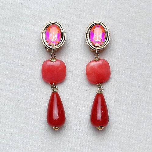 Boucles d'oreilles FAST 32 D/Orange Glow