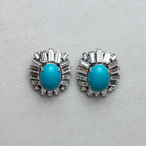 Boucles d'oreilles NEO 1 A/Turquoise