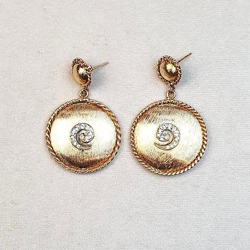 Boucles d'oreilles ART 826 D/Cristal