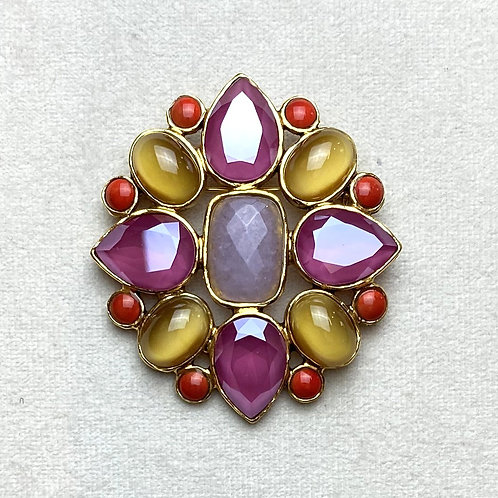 Broche STON 300 D/Dark Red